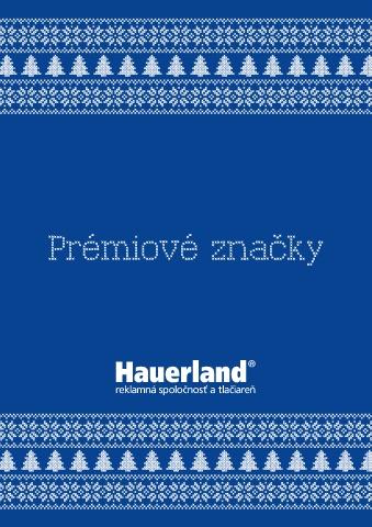 Premiové značky Hauerland 2020